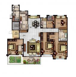 260-6室2厅4卫