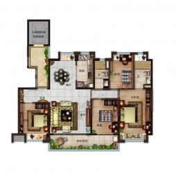 140-4室2厅2卫
