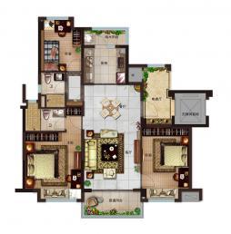 115-3室2厅2卫