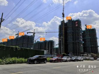 2019年8月工程进度图