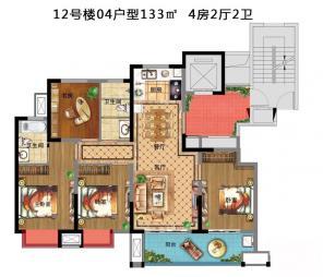 12#楼04户型