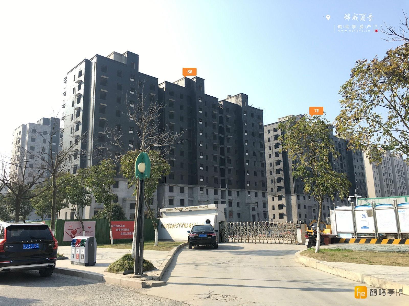 3月锦城丽景工程建设进度图