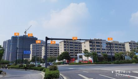 中海万锦公馆6月工程进度