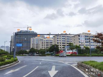 中海万锦公馆7月工程进度
