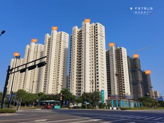 中海万锦公馆工程进度(2020年8月)