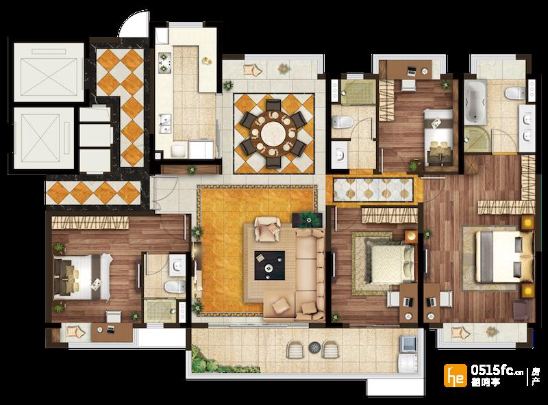 190平层大宅