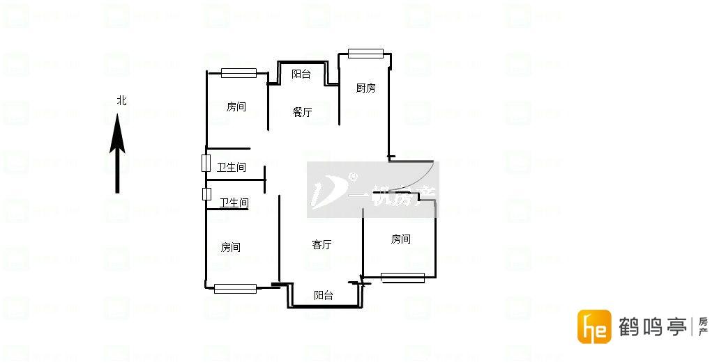 南一中旁天澜湾,纯毛坯大三房,可任性装修自己独特的风格