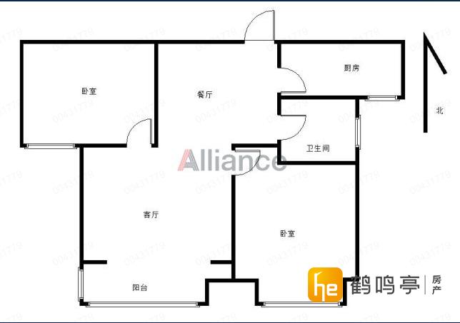 盐渎路学区房 阳光御园 精装2房2厅 有车库中上楼层