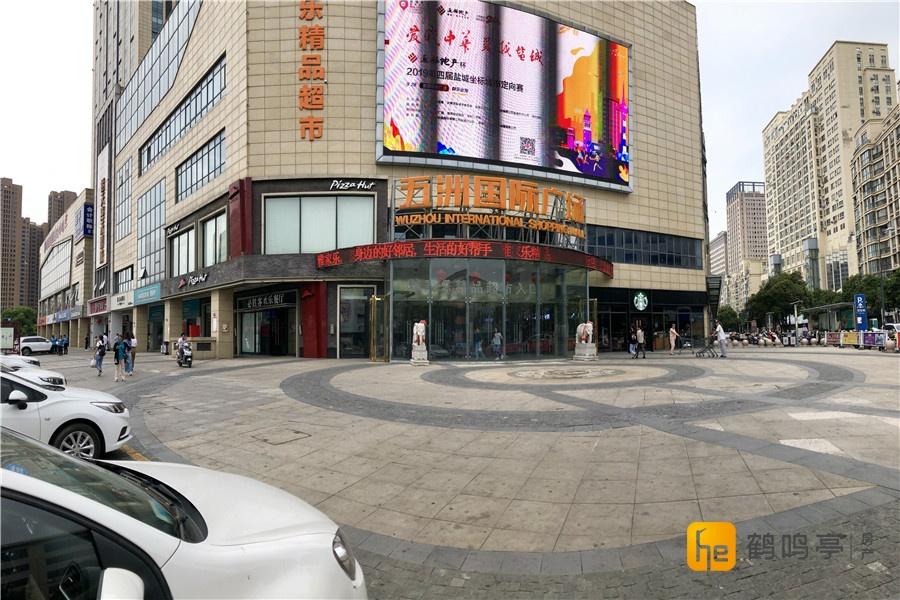 五洲国际在售一楼商铺5.2米挑高一手楼盘开发商直售金铺